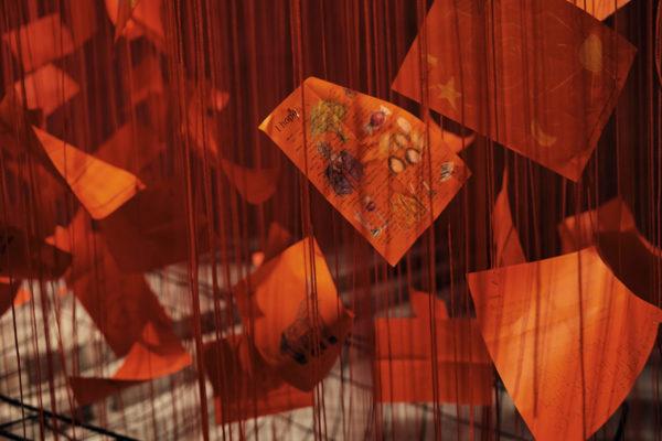 Installation Chiharu Shiota
